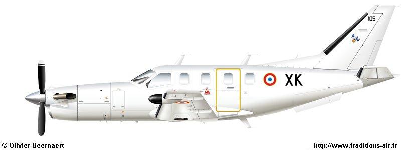 Aircrafts de Storch à TBM