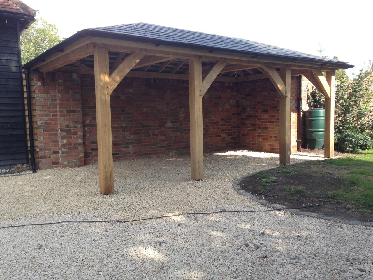 Oak Porch Posts