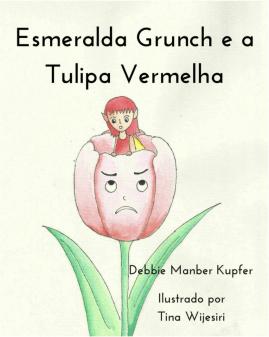 esmeralda grunch e a tulipa vermelha capa livro