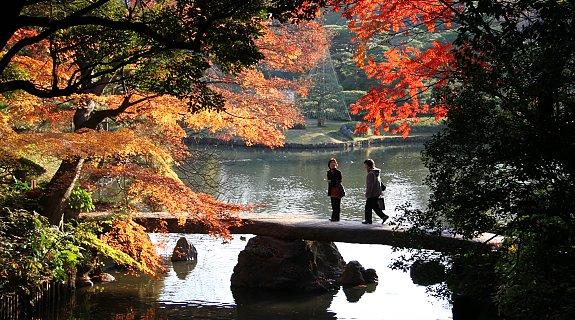 Togetsukyo del Rikugien. Immagine tratta da japan-guide.com