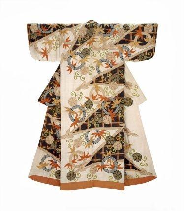 Kimono era Genroku. Immagine tratta da pinterest