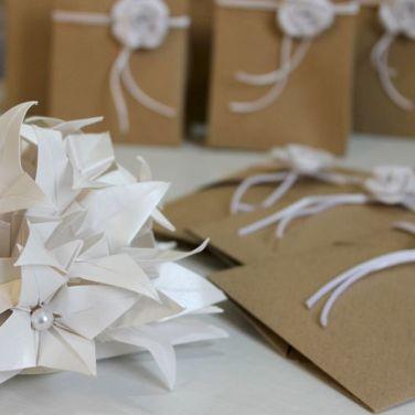 origami bomboniera