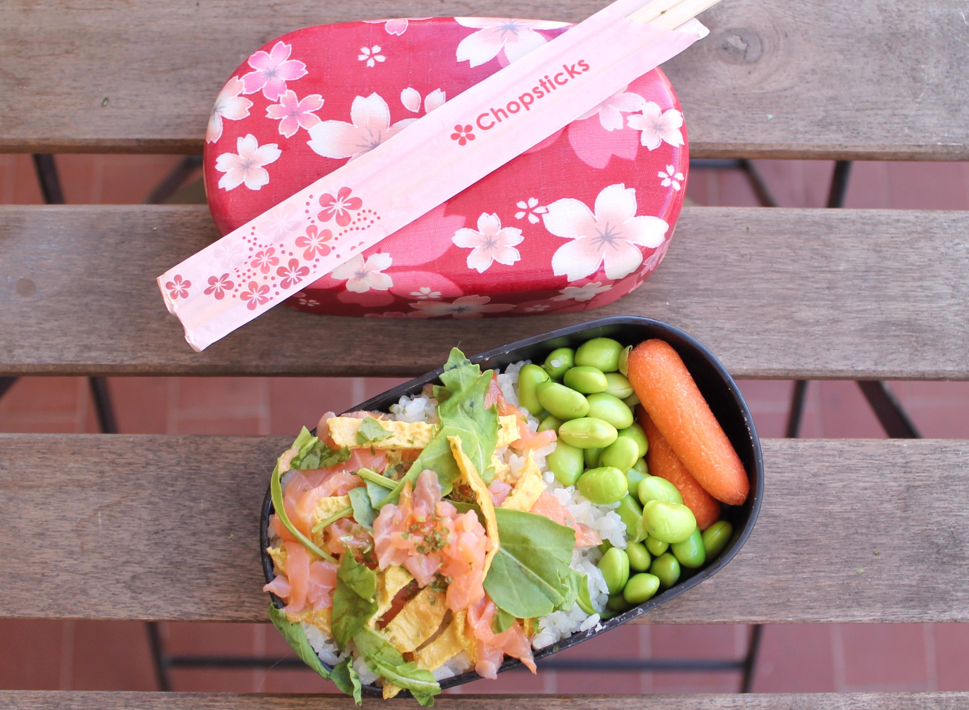 Cosa Cucinare Il 24 Dicembre come preparare un bento per la pausa pranzo: chirashizushi bento