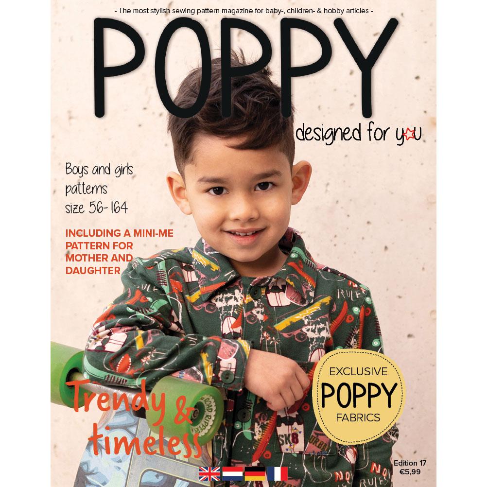 En este momento estás viendo Patrones infantiles: Poppy Magazine  17