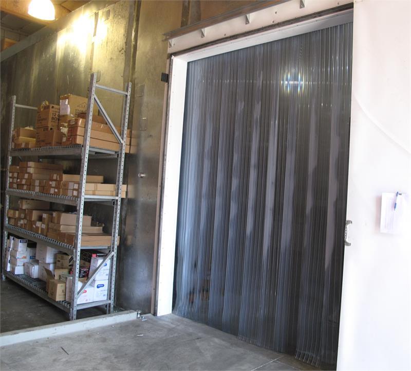 Plastic Strip Curtains For Freezers  PVC Strip Door Rolls