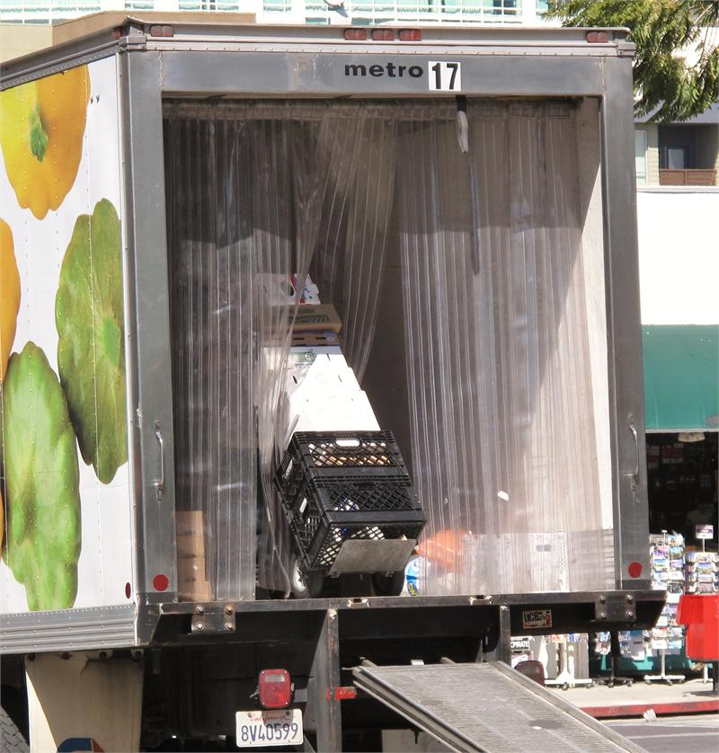 Plastic Strip Curtains For Truck Doors  PVC Strips For