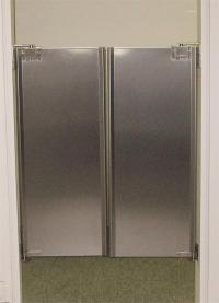 Stainless Steel Doors In Stock - Cafe Swing Doors ...
