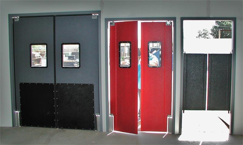 Swinging Door Frames In Stock Restaurant Kitchen Doors With Frame Supermarket Doors And