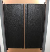 Half Size Swinging Doors - Cafe Doors Swing Door with 7 ...