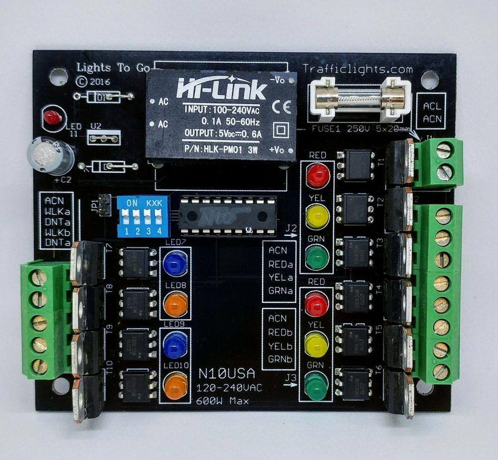 medium resolution of n10 4 way traffic light controller