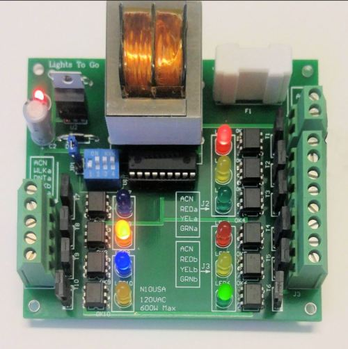 small resolution of n10 4 way traffic light controller