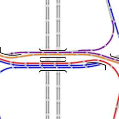 Exit Ramp Traffic Diagram 96 Honda Accord Ecu Wiring Road Work On A Budget How Divergent Diamond Interchanges