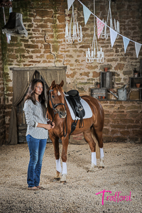 Equine studio portraits by Trafford Photography