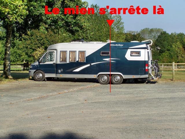 Sur Le Petit Aire Camping Car Trs Sympa Et Gratuit De