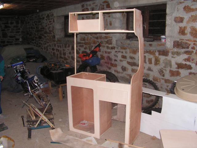 meuble cuisine en kit