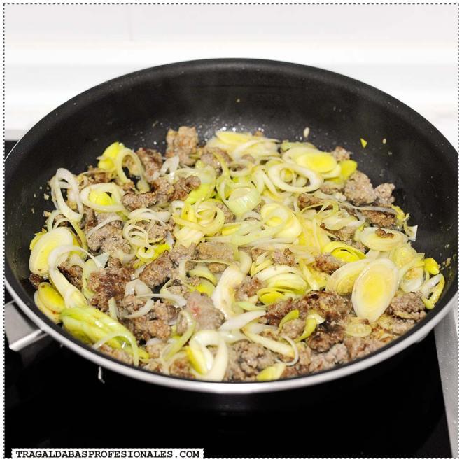 Tragaldabas Profesionales - Carne picada verduras