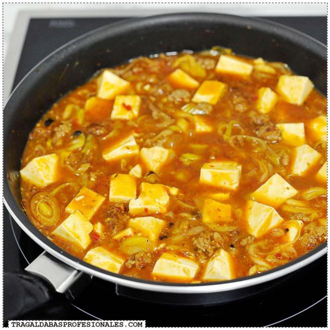 Tragaldabas Profesionales - Mapo tofu