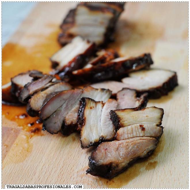Tragaldabas Profesionales - Char siu - Cerdo barbacoa BBQ - Panceta asada