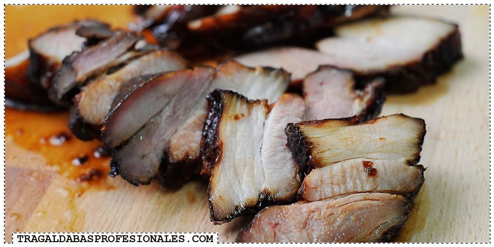 Tragaldabas Profesionales - Char siu - Cerdo barbacoa BBQ