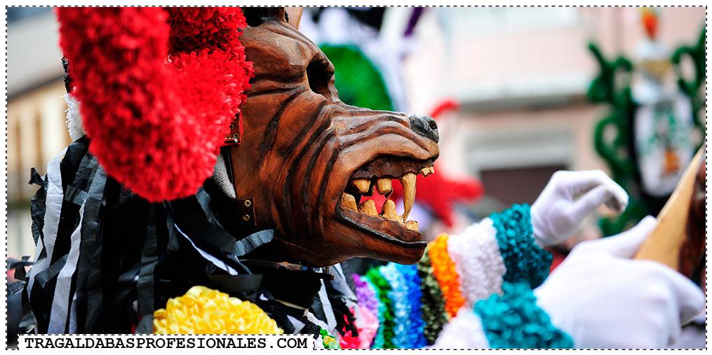 Tragaldabas Profesionales - Carnaval Entroido 2014 - Viana do Bolo - Festa da androlla - Boteiro