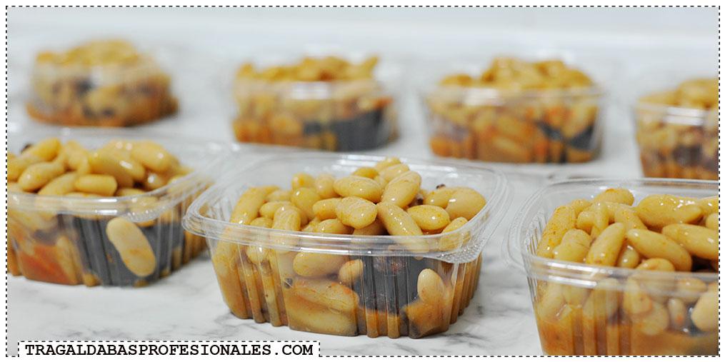 Tragaldabas Profesionales - Receta de fabada asturiana de Doña Aurora