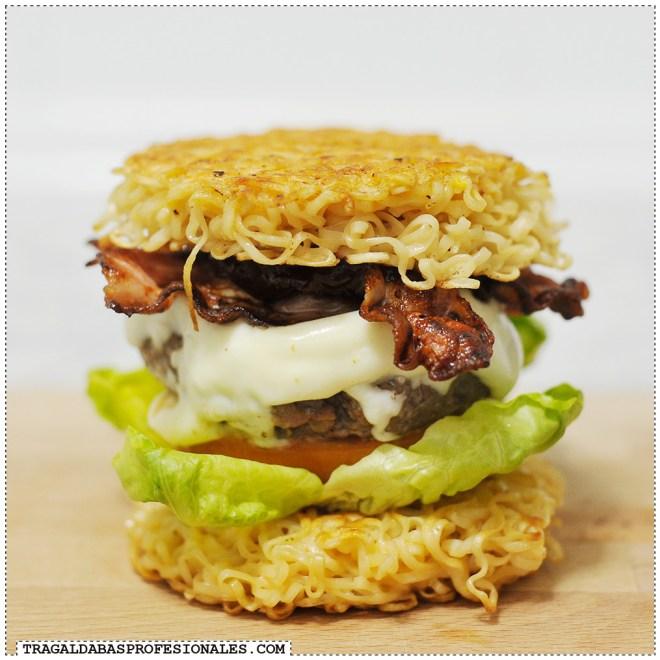 Ramen burger - Tragaldabas Profesionales