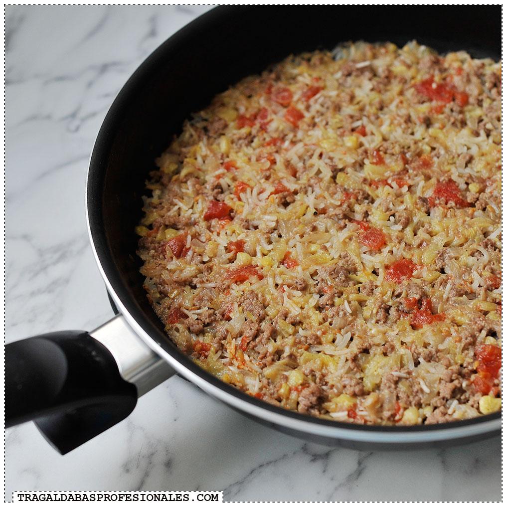 Receta de calabacines rellenos de carne y arroz Tragaldabas Profesionales