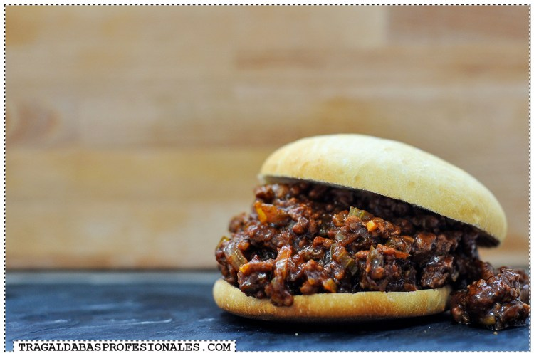 Bocadillo Sloppy Joe - Tragaldabas Profesionales