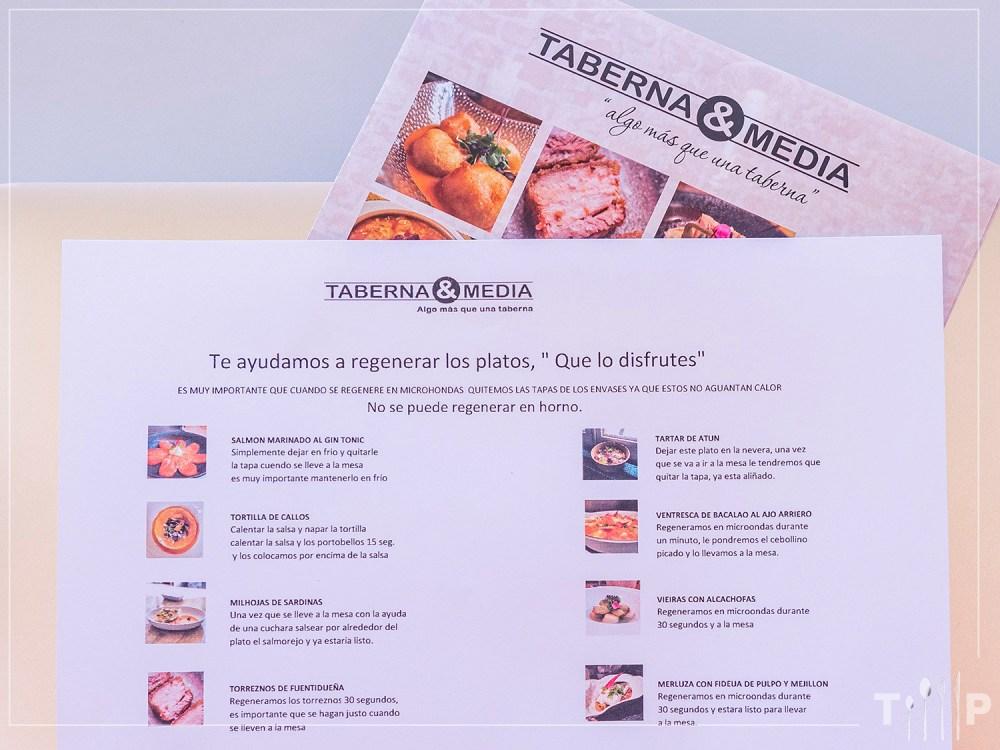 Taberna & Media a domicilio (delivery & take away)
