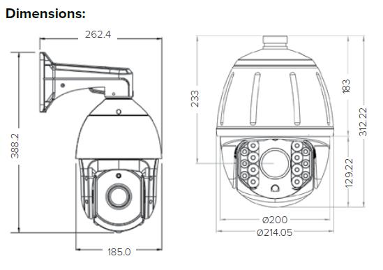 TR-S2.0AHD/22-PTZ « Traice