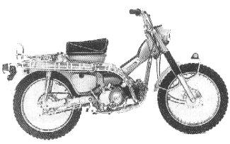Honda Trail CT90 Website» The 1969 Honda Trail 90 (CT90K1)