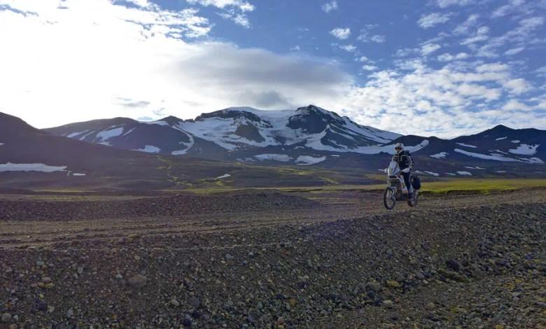 Photo of Voyage en Islande en KTM 450 RFR