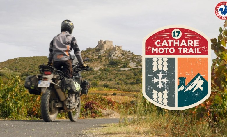Photo of Vidéo officielle du Cathare Moto Trail 2017 de Cocoricorando