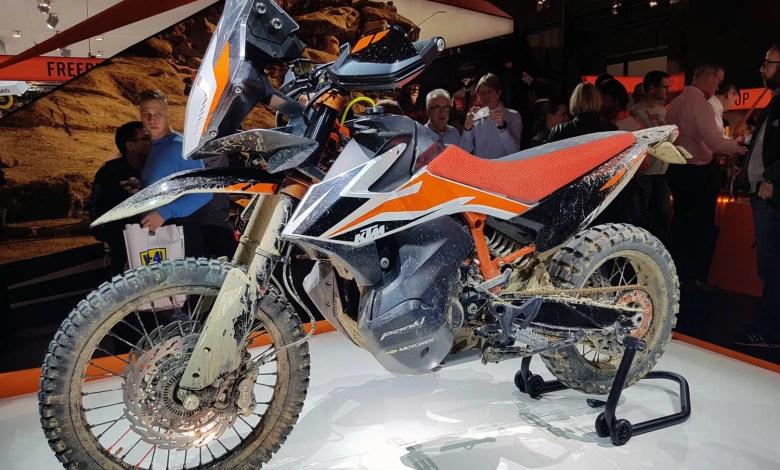 Photo of Prototype KTM 790 Adventure R dévoilé