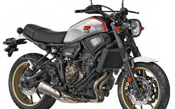 Photo of Yamaha XSR900 X-Tribute : Clin d'oeil appuyé