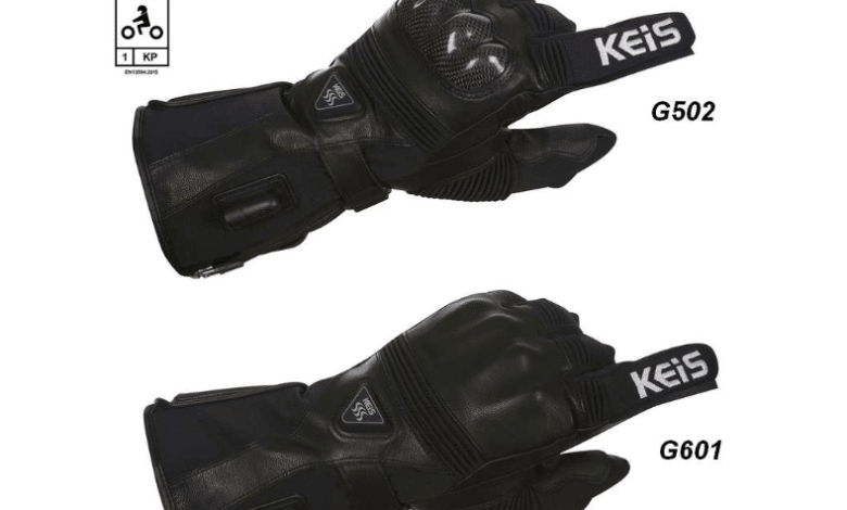 Photo of Gants moto chauffants Keis