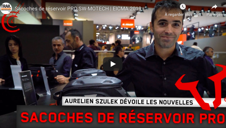 Photo of EICMA 2019 – Sacoches de réservoir PRO SW-MOTECH