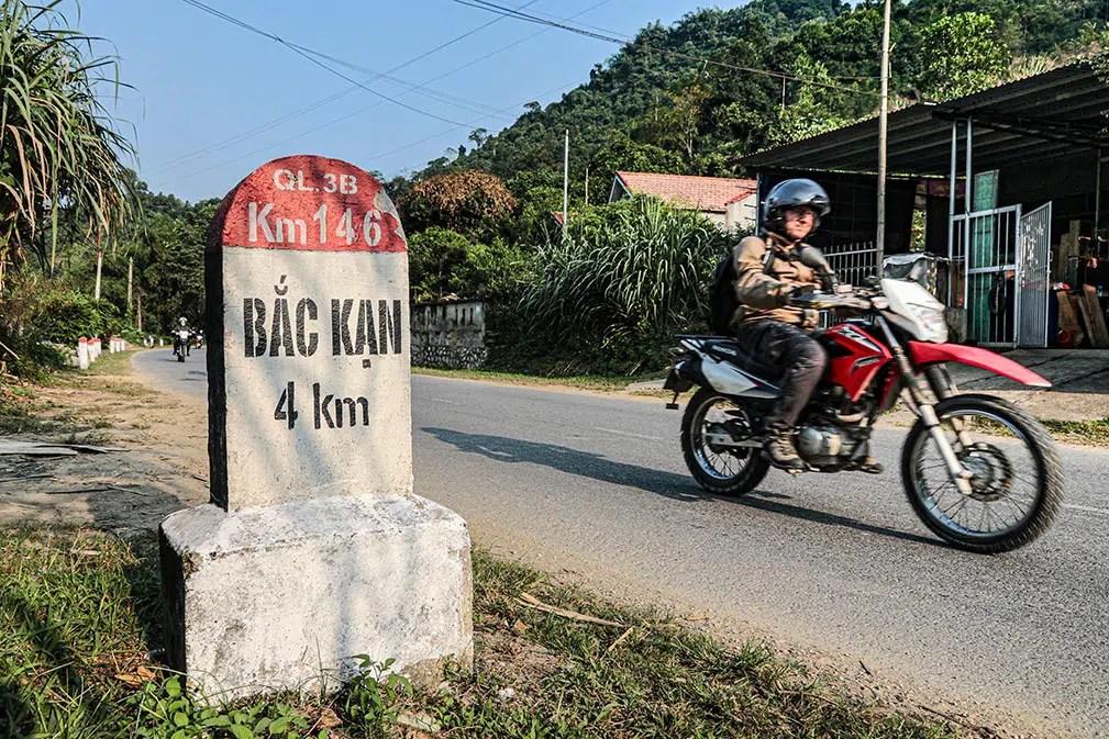 Vietnam nord borne Bac Kan