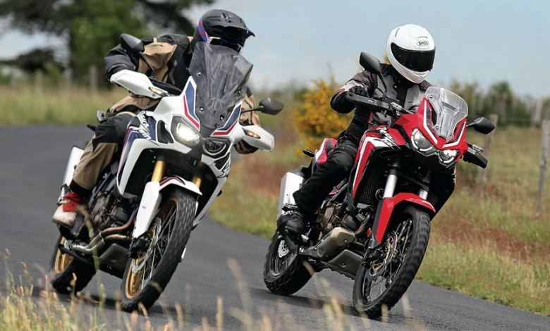 Duel africa twin