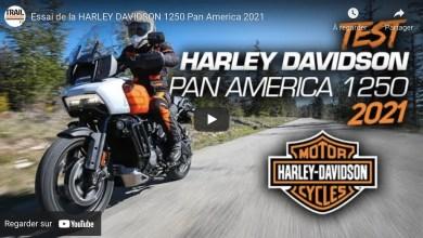 Photo of Essai de la HARLEY DAVIDSON 1250 Pan America 2021