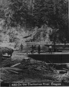Clackamas River Photo - Undated