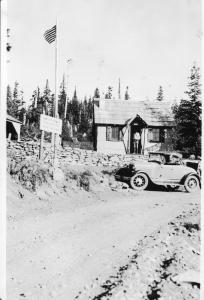 Lookout Springs Guard Station - 1935