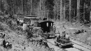 Clackamas River Train - 1923