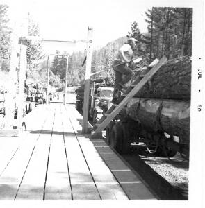 North Fork Scaling Station - 1960