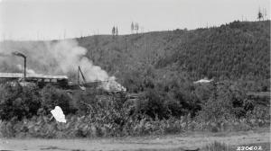 Sawmill Above Promontory Park - Undated