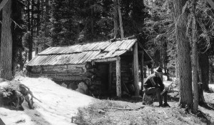 Olallie Lake Trapper Cabin