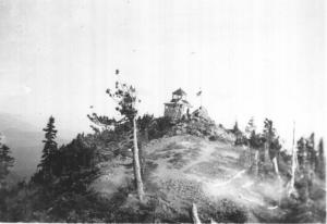 Battle Ax Mountain Lookout - 1930s