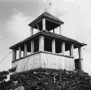 Olallie Butte Lookout - 1963