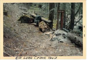Elk Lake Creek Trail - 1968