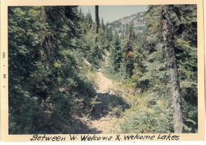 Welcome/West Lake Way Trail - 1968